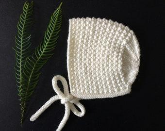 d3f54870626 Newborn Baby Bonnet