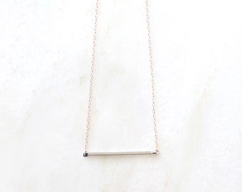 PATH gold bar necklace necklace. layer necklace. everyday necklace. proverbs 3:5. christian necklace. silver bar necklace. minimal necklace.