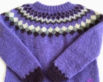 Icelandic sweater, lopapeysa,  kids fall,