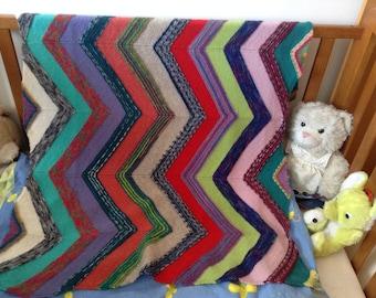 Blanket, baby carriage blanket, knitted blanket