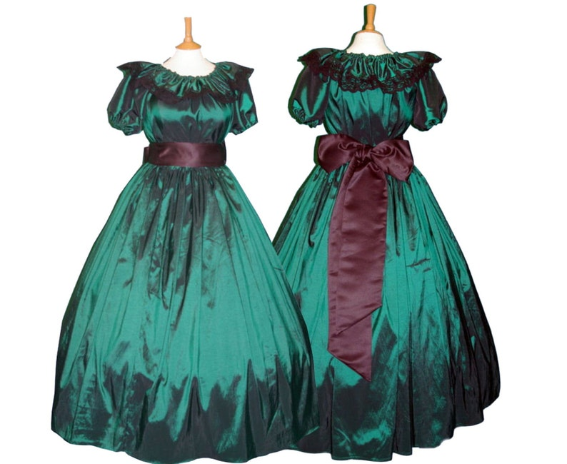 Victorian Clothing, Costumes & 1800s Fashion Ladies Victorian / American Civil War 3pc costume $92.89 AT vintagedancer.com