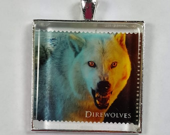 Game of Thrones Direwolves Wolf HBO GOT George R R Martin UK Genuine Postage Stamp