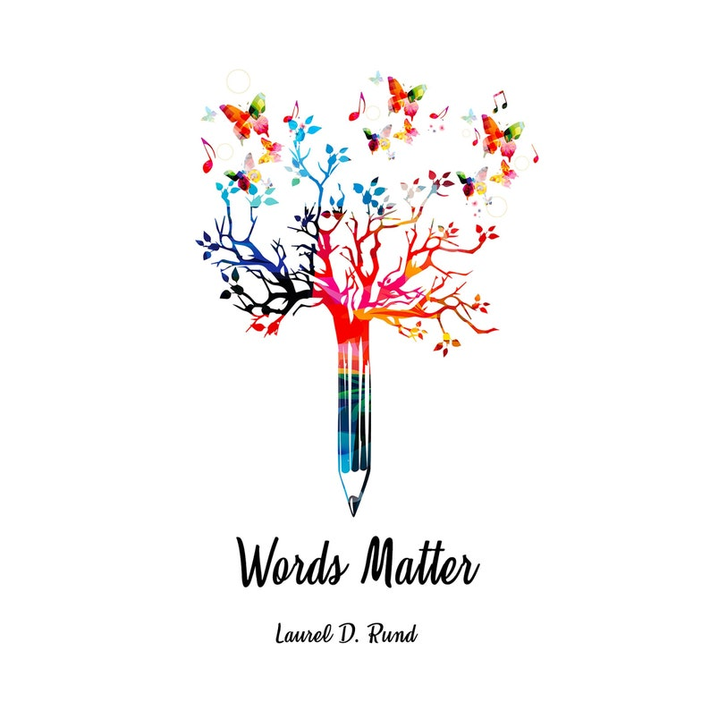 WORDS MATTER BOOK  Coffee Table Book  Quotes About Life  image 0