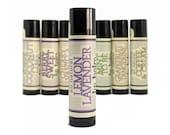 Lemon Lavender Lip Balm - All Natural, Handmade, essential oils, Lavender, Lemon, beeswax based chapstick