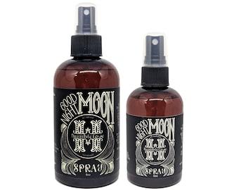 Good Night Moon Aromatherapy Spray - 4oz or 8oz -  Nighttime, calming. For sleep, meditation, relaxation. Lavender, Frankincense & Geranium