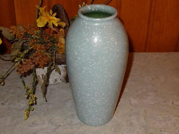 Studio Nova Mint Green Splatter Vase Green Vase Etsy