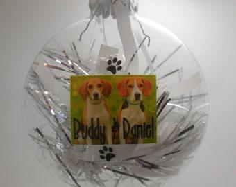 Custom Printed Holiday Ornaments