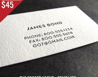 Letterpress business cards etsy colourmoves