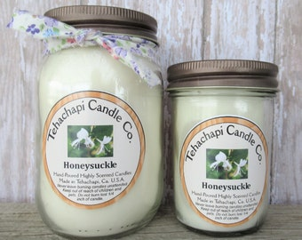 Honeysuckle Candle, Scented Soy Candles, Candles, Wax Melts, Smelly Jelly, Votive Candles, Air Freshener, Scented Candle, Wax Tarts, Votives