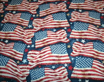 Free Shipping! on 2 Patriotic American Flag Sofa Bed Pillow Covers - Americana Pillow Covers - Fourth of July Decor-Holiday Pillow Cover,