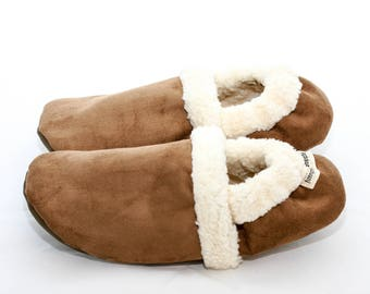 Women's slippers with soles | Travel slippers | Indoor slippers for adults | House shoes for women | Warm slippers for women | Travel shoes