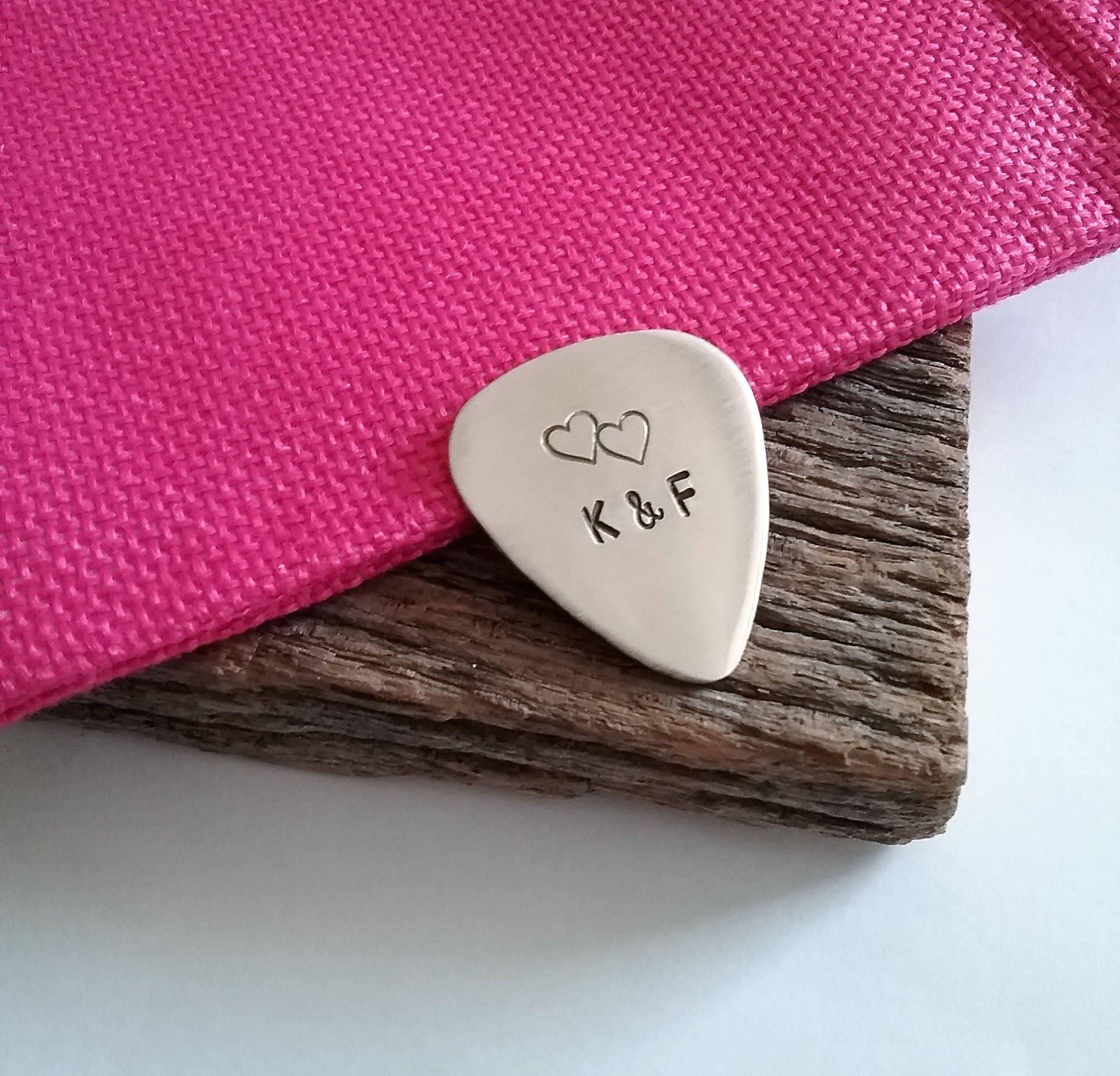 Valentine\'s Day Gift for Husband Guitar Pick for Him | Etsy