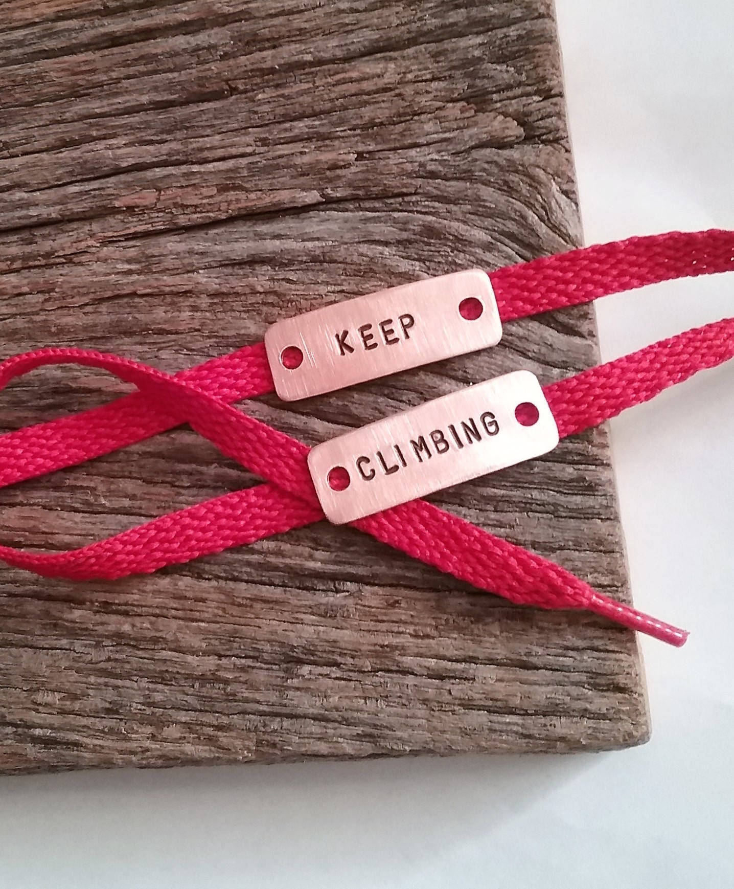 Keep Climbing Shoe Tags Unisex Gifts Under 20 Gift For Climber