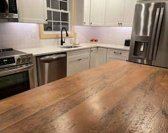 Kitchen Island WOOD COUNTER TOP