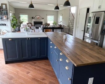 Kitchen Island COUNTER TOP Reclaimed Pine