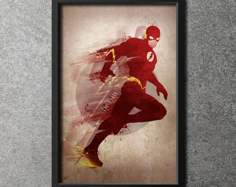 Original Giclee Art Print 'The Flash'