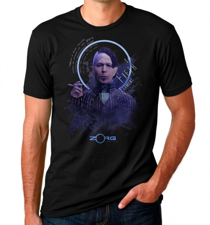74a78ab2e Fitted Tee 'Zorg'   Etsy
