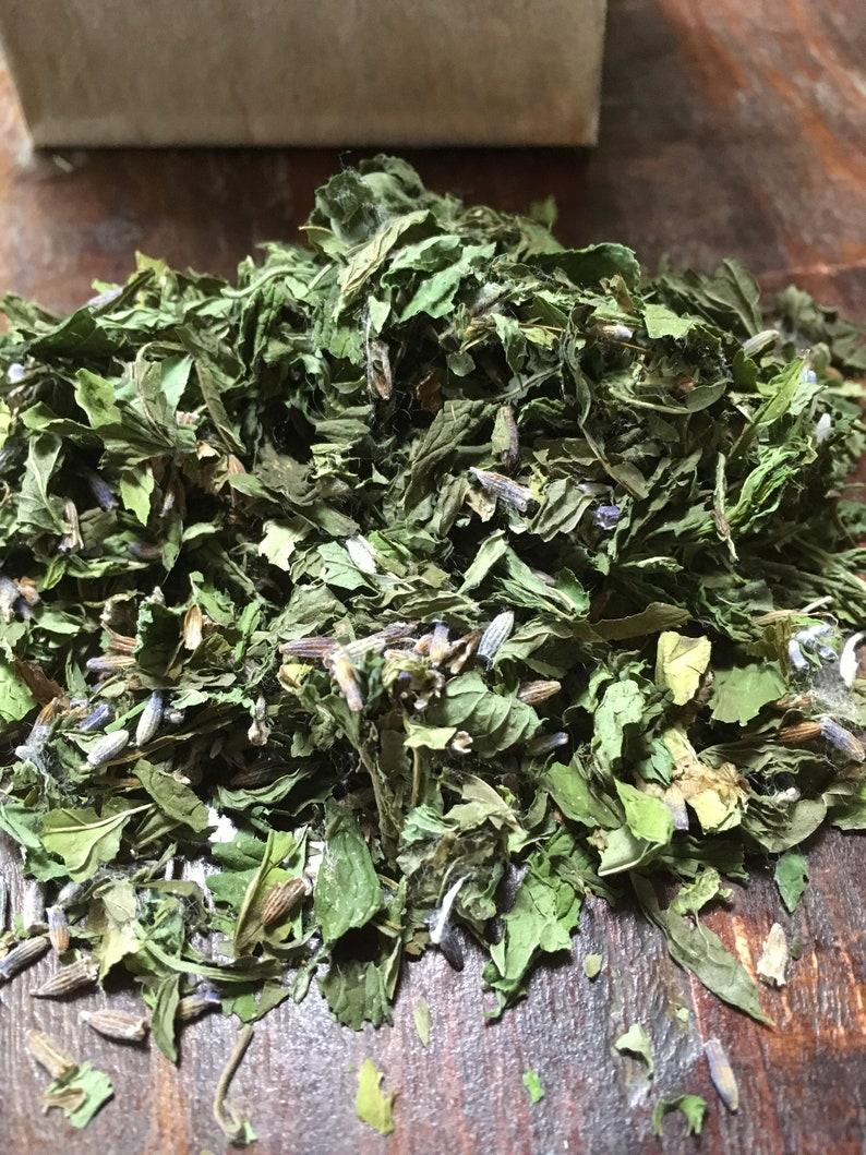 Lavender mint tea Lavender and Mint Iced tea Herbal tea image 0