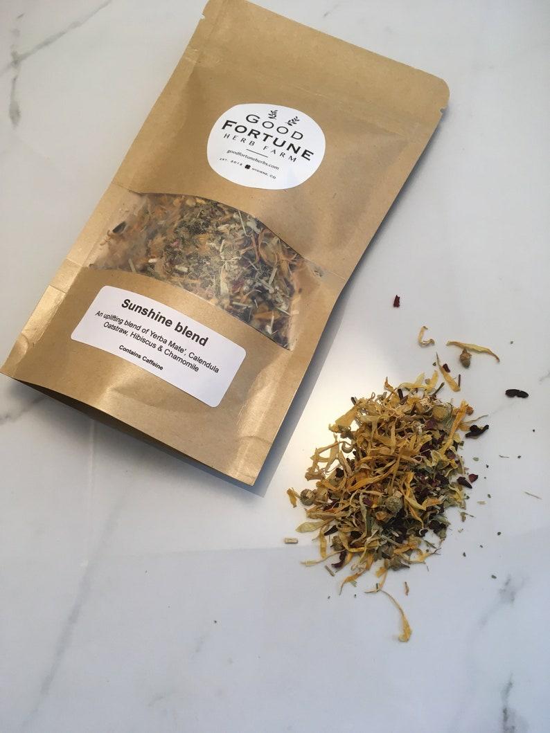 Sunshine Tea Blend Hibiscus tea Herbal tea Yerba Mate' image 0