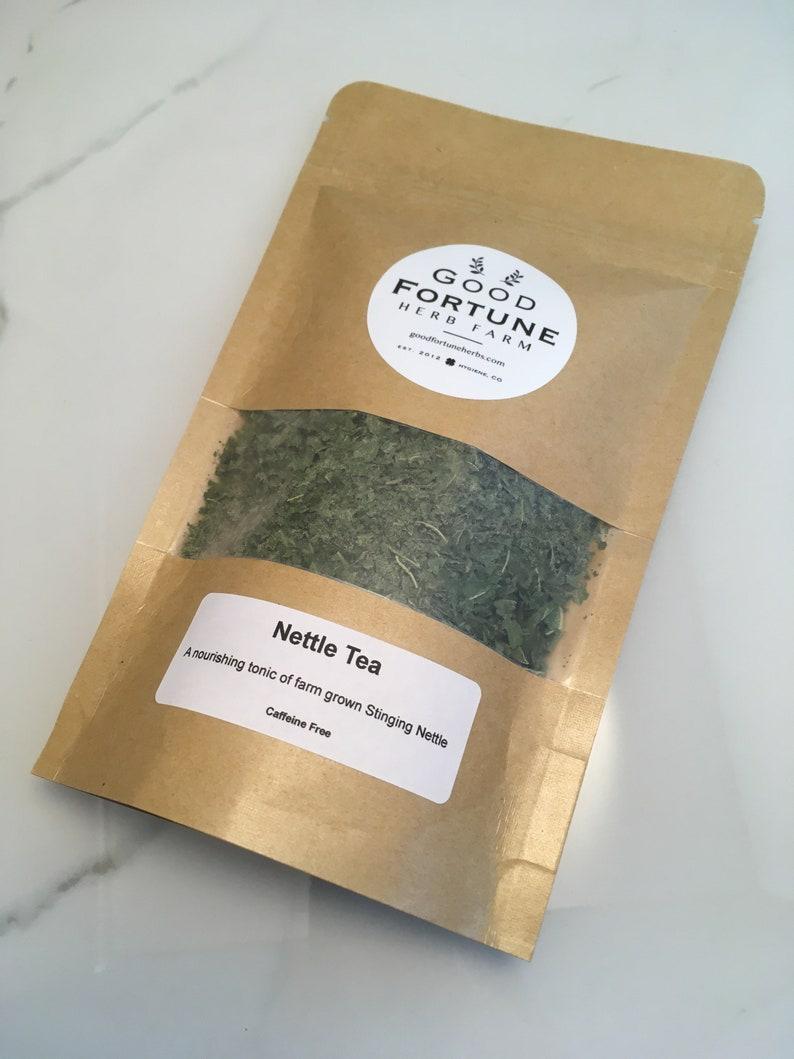 Nourishing Nettle Leaf Tea Nourishing tea Nutrient rich tea image 0