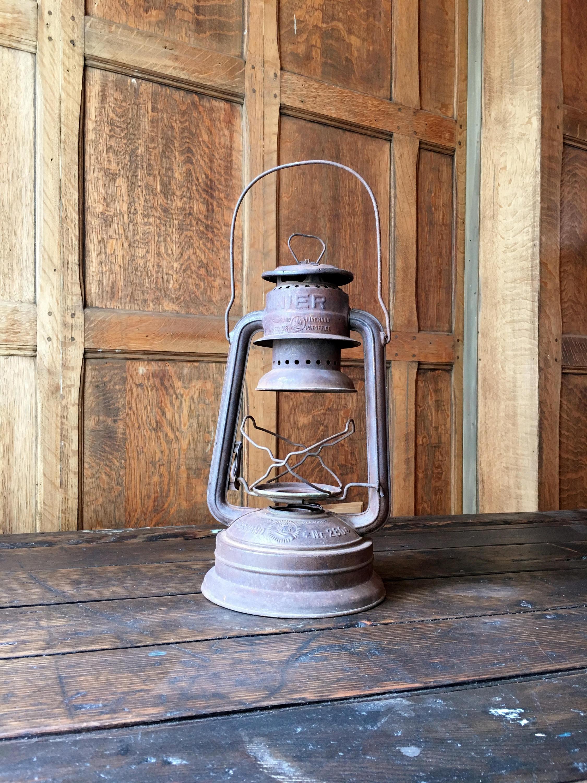 Vintage Nier Lantern Made In Germany Feuerhand Firehand Nr 280 Vintage Camping Outdoor Decor Hurricane Lantern Rustic Lanterns
