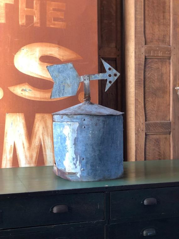 Vintage Cupola, Handmade Galvanized Barn Cupola, Farmhouse Decor, Rustic Home Decor