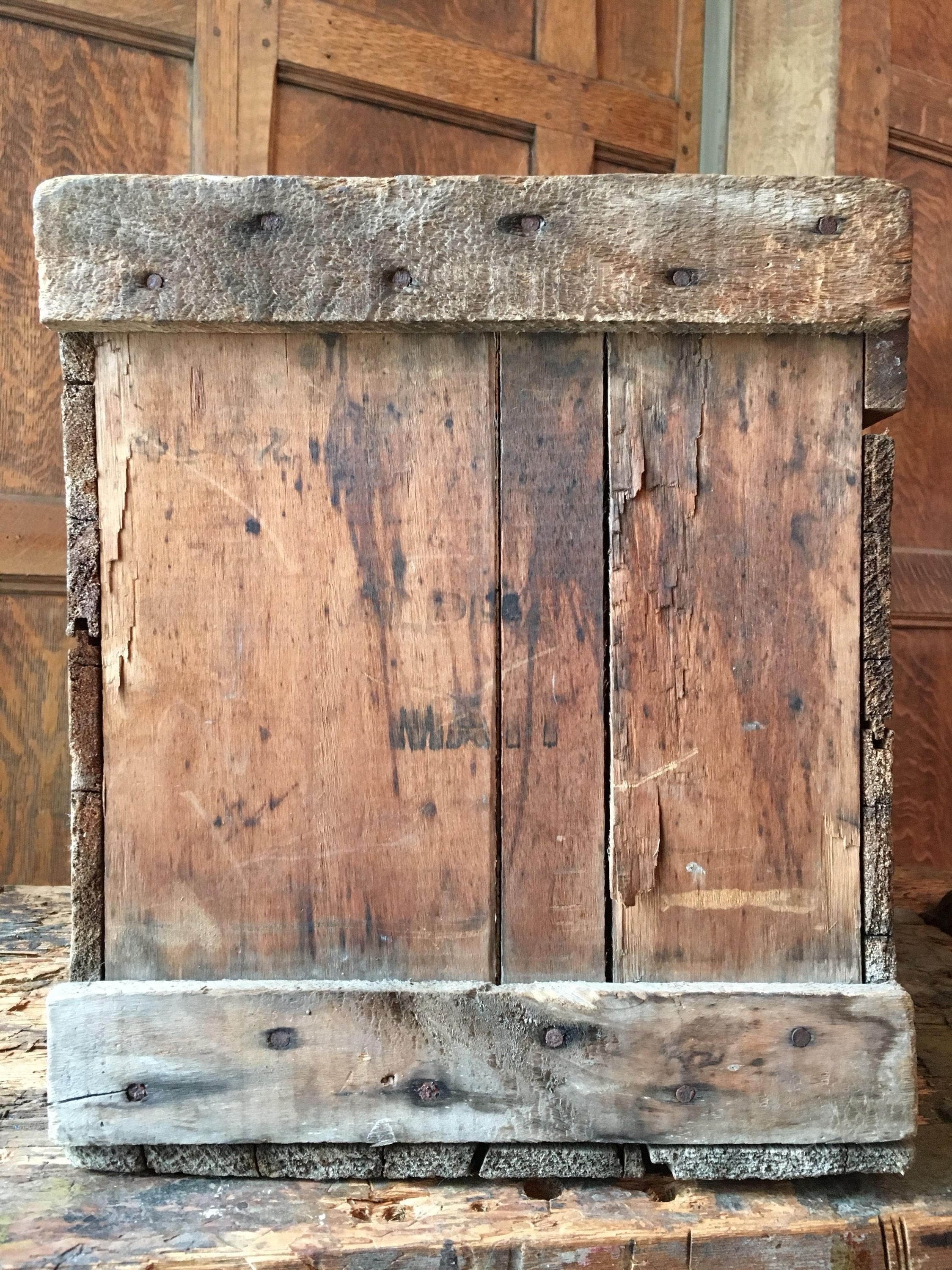 Vintage Wood Crate G Cramer Dry Plate Co St Louis