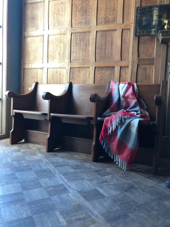 Fine Antique Church Pew Bench With Hidden Storage Oak Cjindustries Chair Design For Home Cjindustriesco