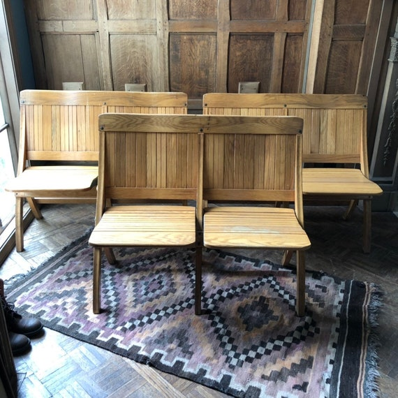Surprising Vintage Folding Bench Wood Theater Seats Church Pew Bench Entryway Seating Folding Chairs Vintage Theater Seats Caraccident5 Cool Chair Designs And Ideas Caraccident5Info