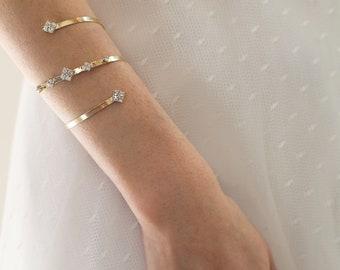 Gold Arm Bracelet Etsy