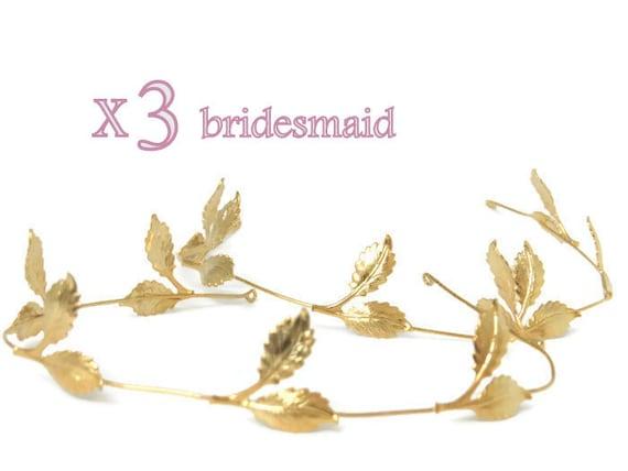 3 brautjungfer haar accessoires hochzeit braut tiara etsy. Black Bedroom Furniture Sets. Home Design Ideas
