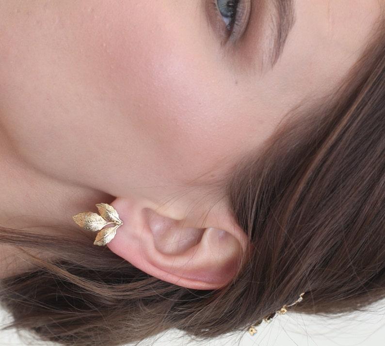 Silver leaf earrings Gold earrings Leaf earrings stud earrings simple stud earrings gold stud earrings