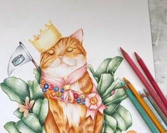 Lámina  cat lover