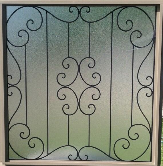 Decorative Wrought Iron Window Grills 7