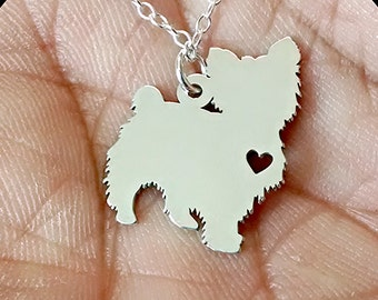 Yorkie necklace etsy popular items for yorkie necklace aloadofball Image collections