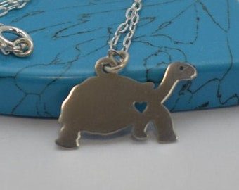 Turtal necklace Sterling silver or Pendant Tortoise necklace sea creature 14ins Baby 16ins kids 18ins adult animal necklace Giftwrapped kids