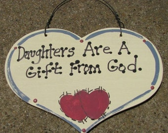 Wooden Sign Hand Painted Today Is A Gift From God Etsy