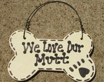 29-2083 I Love My Mutt or We Love Our Mutt
