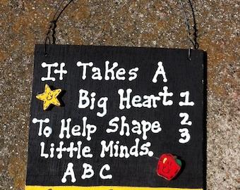 Teacher Gift  5216LM - Little Minds  with Ruler/Apple