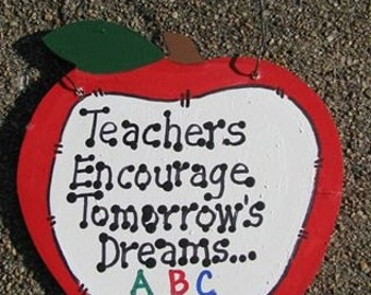Teachers Gifts - 9171TE Teachers Encourage Tomorrow's Dreams