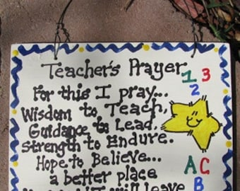 Teacher Gifts  PS197 Teacher Prayer