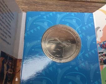 1994 Euro Tunnel commemorative medallion