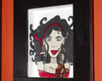 Esmeralda keychain