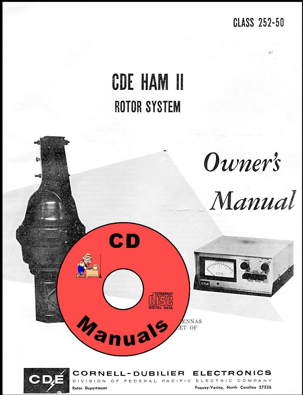 cde ham ii cd 44 cd owner\u0027s manual antenna rotor rotator * free Cde Rotor Control Box cde ham ii cd 44 cd owner\u0027s manual antenna rotor rotator * free shipping