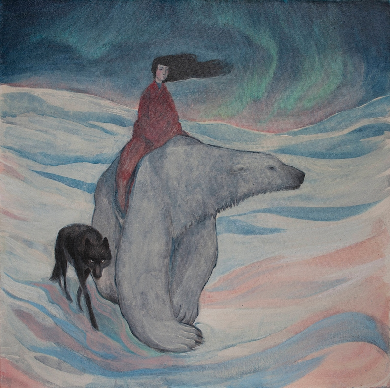 Lucy Campbell print Where the North Wind Sings. image 0