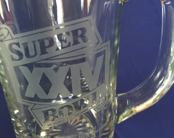 Super Bowl 24 New Orleans 1990 mug