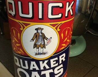 Quacker oats can