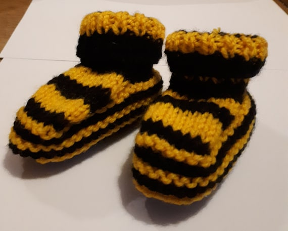 Hand Knitted Bumblebee Baby