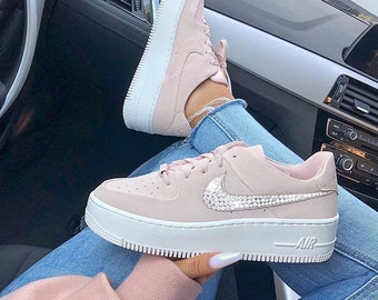 Nike Air Force 1 Swarovski Kristallisiert in zertifizierten
