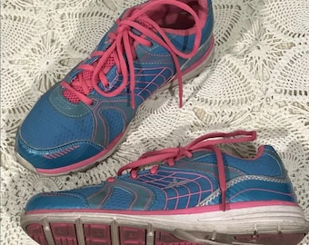 1dfbdbc209c7 Vintage 90s Athletech Running Shoes Willow 2 Women s Size 8.5M Bright Neon